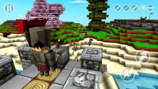 Juegos de acción Castle crafter para teléfono inteligente