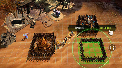 RPG Wasteland heroes für das Smartphone