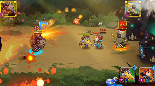 Battle rams: Clash of castles. Action RPG moba para Android