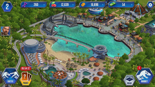 Simulation Jurassic world: The game für das Smartphone