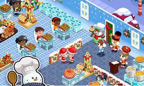 Feste Restaurant story: Christmas auf Deutsch