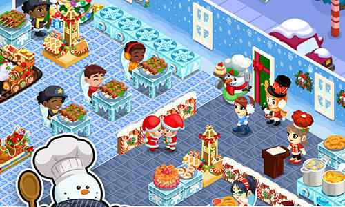 Restaurant story: Christmas screenshot 4