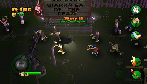 Arcade-Spiele: Lade Brenn Zombie, Brenn auf dein Handy herunter