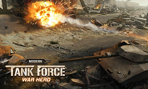 Modern tank force: War hero captura de pantalla 1
