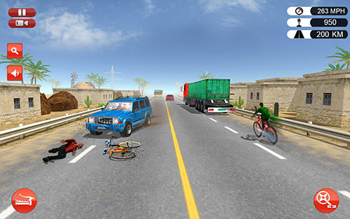 Bicycle quad stunts racer pour Android