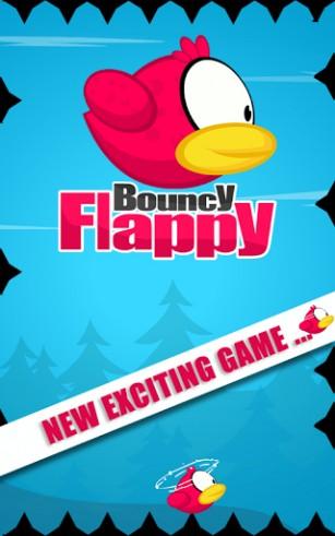Arcade-Spiele Bouncy flappy für das Smartphone