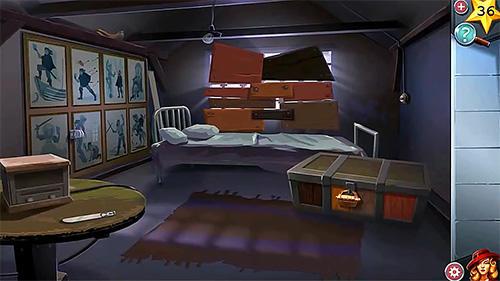 Abenteuer-Spiele Adventure escape: Allied spies für das Smartphone