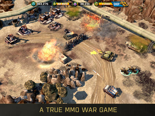 War commander: Rogue assault para Android
