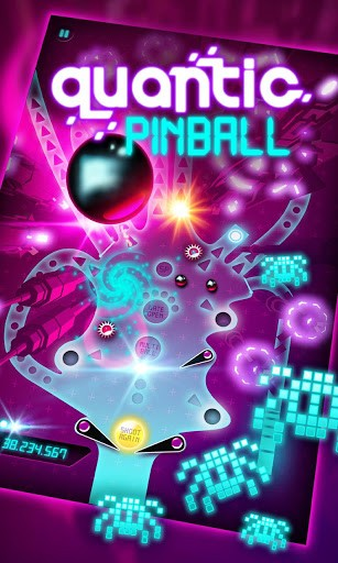 Quantic pinball Screenshot