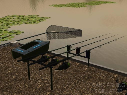 Carp fishing simulator pour Android
