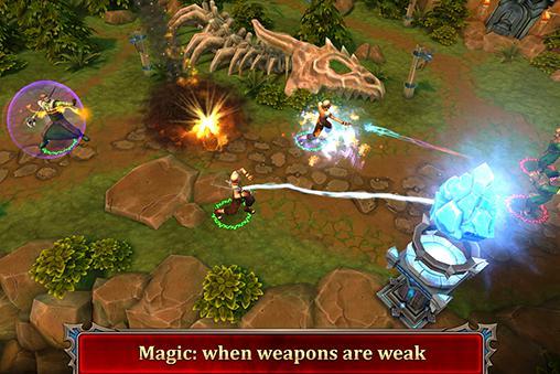 RPG Dragon warlords für das Smartphone