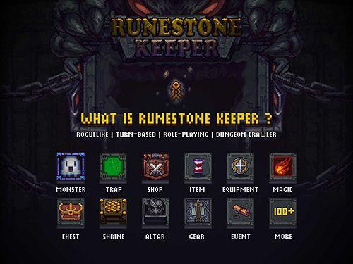 Screenshot Runestone keeper on iPhone