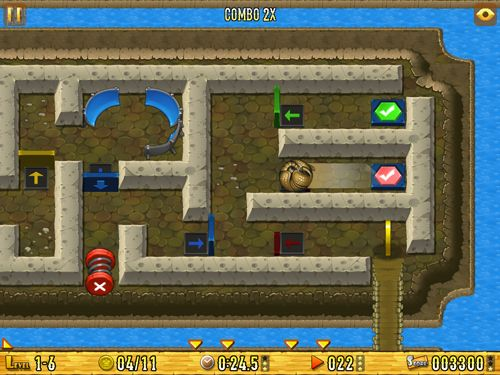 Screenshot Armadillo: Gold rush on iPhone