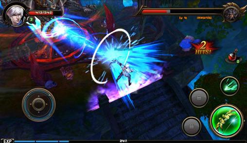 RPG-Spiele Dark Ares für das Smartphone