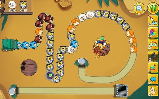 Bubble zoo rescue 2 für Android