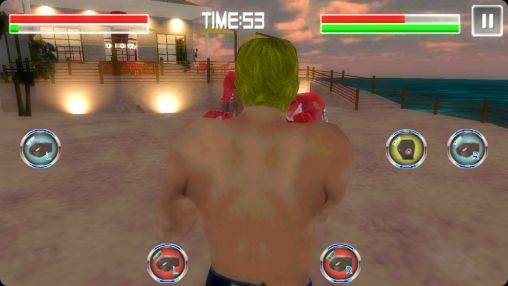 Multiplayerspiele Boxing mania 2 für das Smartphone