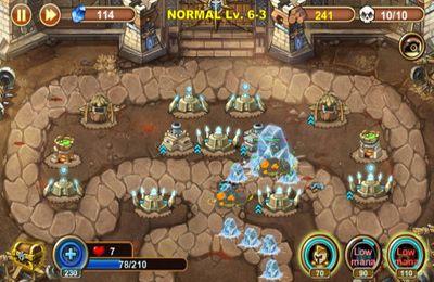 Defensa del castillo para iPhone gratis