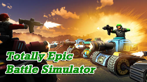 Totally epic battle simulator іконка