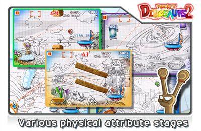 Juegos de arcade: descarga Dinosaurios de bolsillo 2: Insanamente adictivo! a tu teléfono
