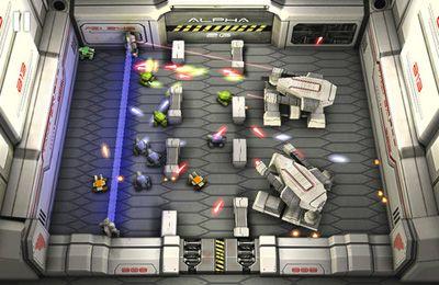Les Tanks: la Guerre des Lasers