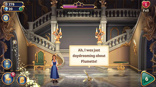 Arcade-Spiele Beauty and the beast für das Smartphone