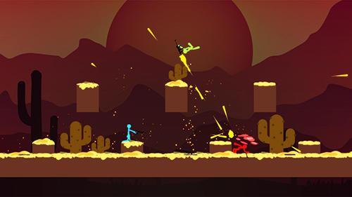 Actionspiele Stickman: Legend of survival für das Smartphone