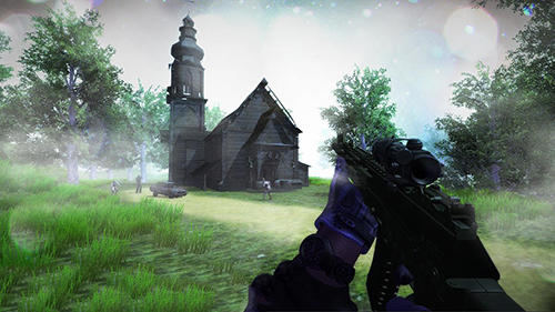 Last dead Z day: Zombie sniper survival screenshot 1