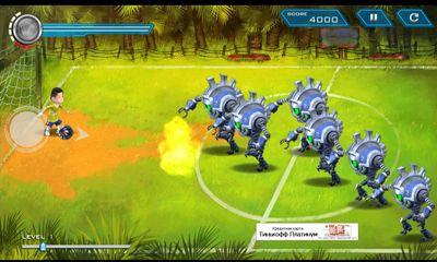 Bola Kampung RoboKicks скріншот 1