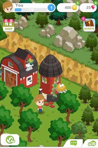 Screenshot Harvest crossing on iPhone