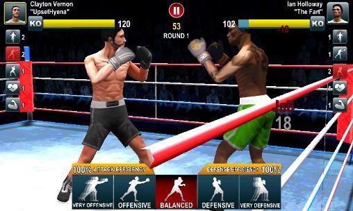 Скриншот Мировые соревнования по боксу на Айфон