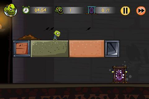 Screenshot Zombiez! auf dem iPhone