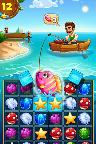 Tropic trouble: A match 3 adventure builder для Android