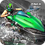 Extreme power boat racers Symbol