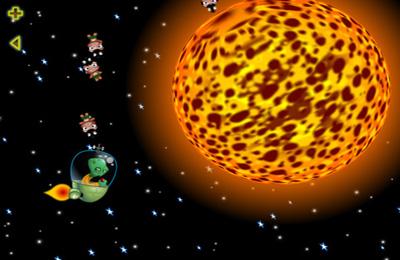 Screenshot Taschengott: Reise zum Uranus auf dem iPhone