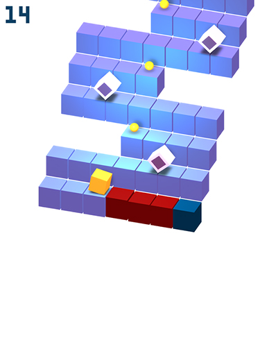 Arcade Cube roll für das Smartphone