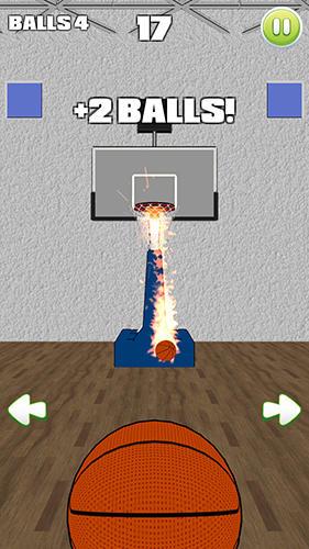 Basketball party shot: Multiplayer sports arcade auf Deutsch