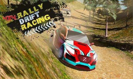 Fast rally racer: Drift 3D Screenshot