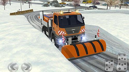 Ski resort: Driving simulator pour Android