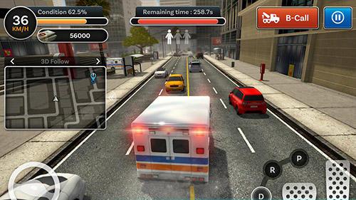 City ambulance: Rescue rush für Android