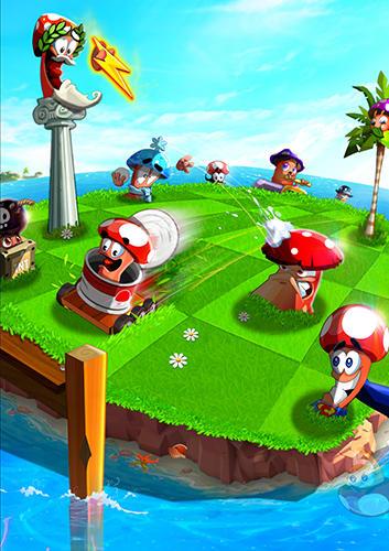 Arcade-Spiele Garden goons für das Smartphone