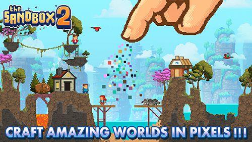 Arcade-Spiele: Lade Die Sandbox 2 auf dein Handy herunter