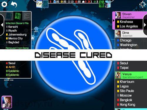 Captura de pantalla Pandemia: Juego de mesa en iPhone