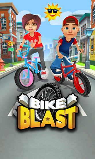 Bike blast: Racing stunts game скріншот 1