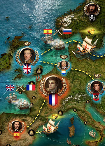 Age of sail: Navy and pirates für Android