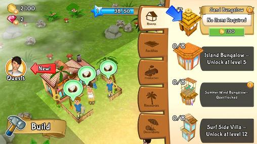 Paradise resort: Free island for Android
