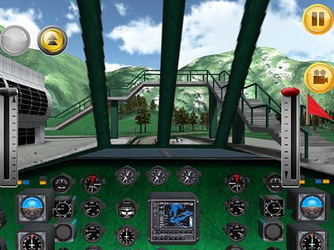 Screenshot Zugfahrt 3D auf dem iPhone