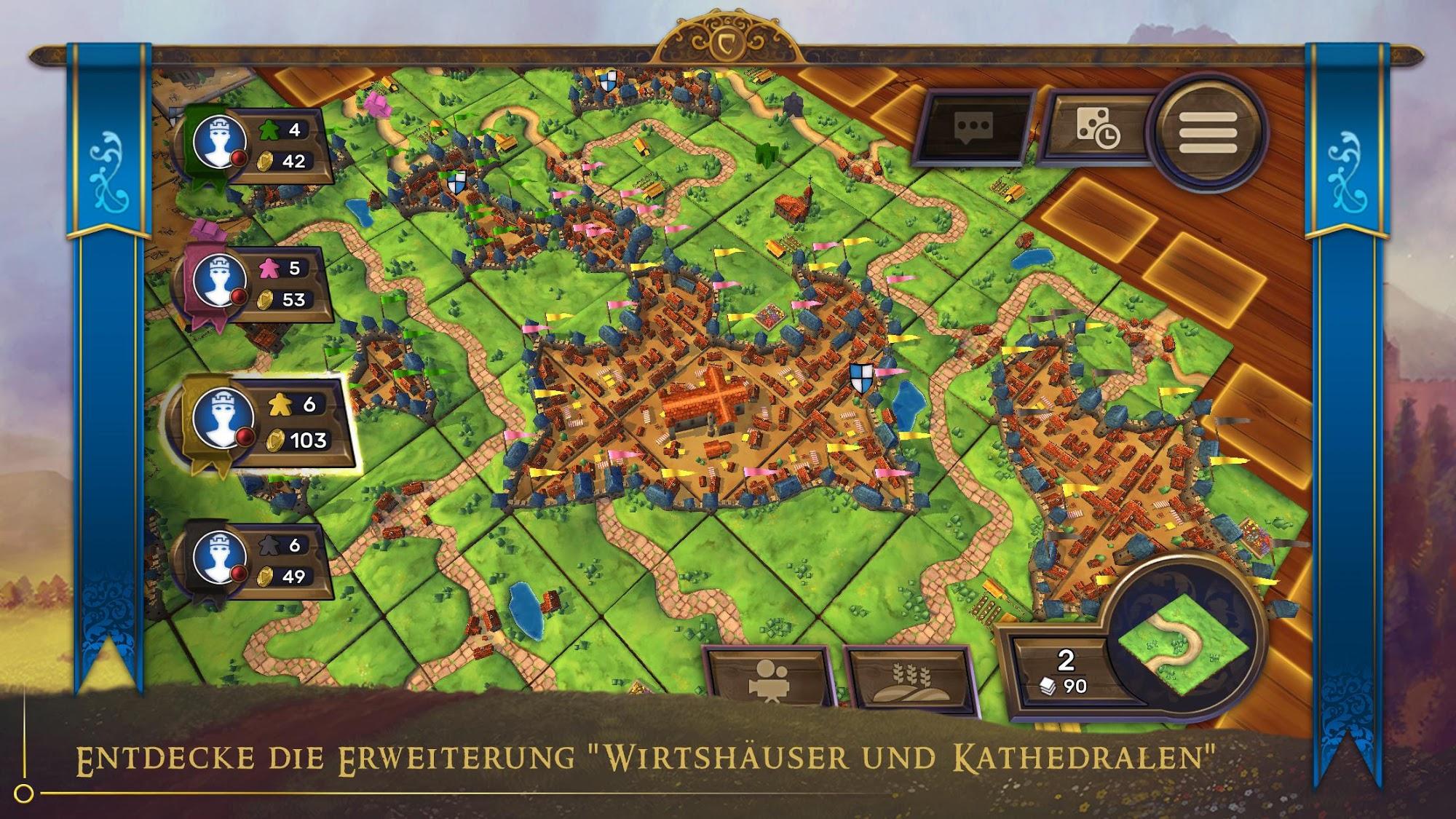 Carcassonne: Official Board Game -Tiles & Tactics screenshot 1