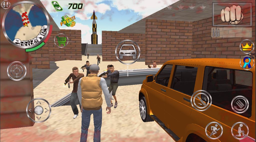 Real Gangster Simulator Grand City для Android