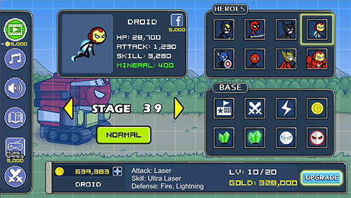 Heroes wars: Super stickman defense Screenshot