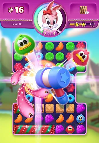 Screenshot Bonbon Explosion auf dem iPhone